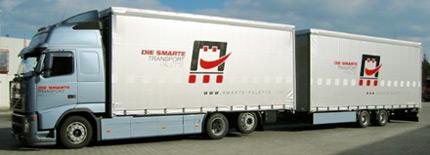 Internkontinentaler Transport - mit Bössl Paletten